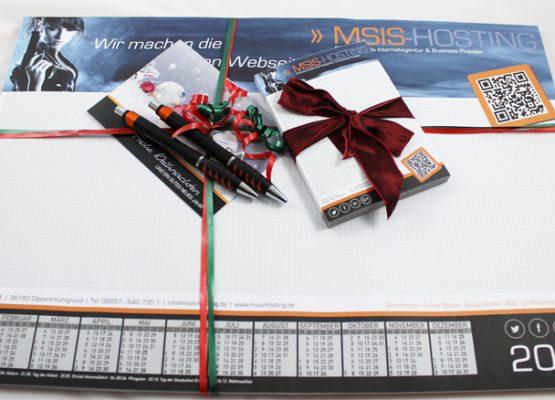 Weihnachtspräsente für unsere Kunden